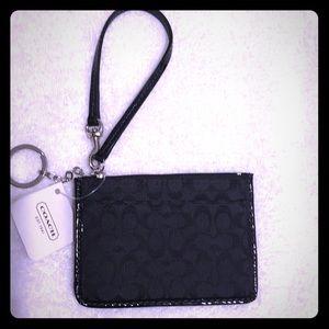 🔥New🔥Coach keychain wristlet